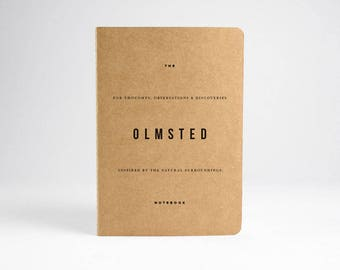 Olmsted Notebook