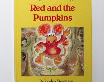 Fraggle Rock Red and the Pumpkins Book 1983
