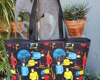 Star Trek Shopping or Record Bag