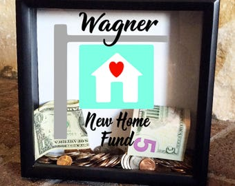 New Home Fund Bank, Personalized House Fund Bank, Adult Bank, New House Fund, Family Savings Bank, Piggy Bank