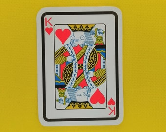 King of Hearts - Sticker