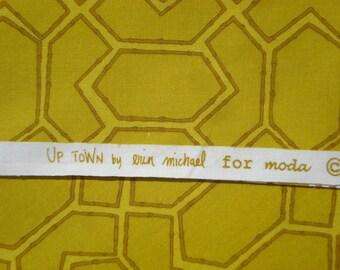 UpTown Erin Michael Aunt Dotty's Furniture gold moda fabrics FQ or more