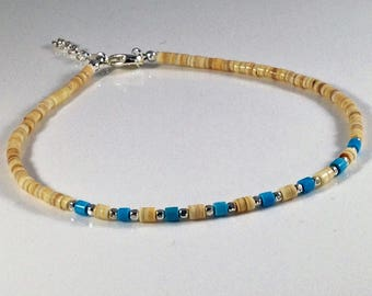 ankle jewelry gold opal etsy beach bracelet anklets her anklet il c for body dainty