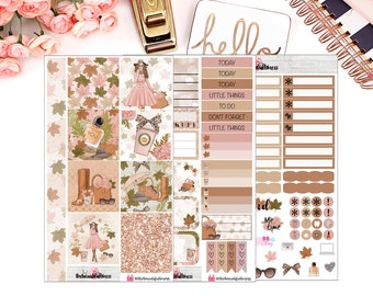 Fall Fashion Personal Planner Kit / Weekly Kit