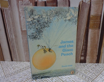 James and the Giant Peach - Roald Dahl - Vintage Children's book