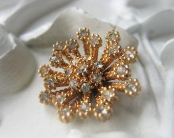 Vintage Flower  Cabochon Metal Flower Item No. 9452