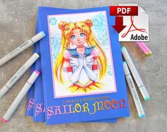 Sailor Moon Coloring Book (PDF Version)