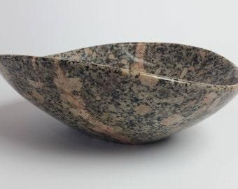 Stone Bowl,  Stone Sculpture, Centerpiece Bowl, Decorative Bowl
