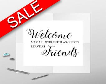 Wall Art Welcome Digital Print Welcome Poster Art Welcome Wall Art Print Welcome Home Art Welcome Home Print Welcome Wall Decor Welcome