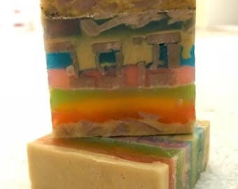 Champagne Scented Glycerin Soap