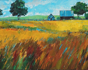 Fields of Gold (Oil Painting)