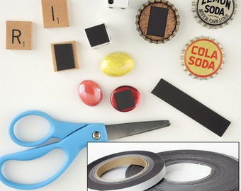 Craft Magnets - Magnetic Tape Roll - Peel & Stick Backing - 1/2 inch x 50 feet - MAGSTB-50FT