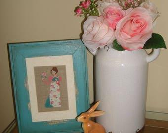 A Regency Rose / A Jane Austen Heroine / A Cross Stitch Chart