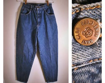 80s Hunt Club straight-legged retro denim jeans