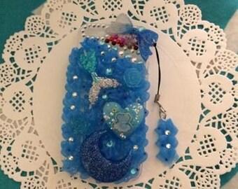 IPhone 5/5s Decoden Little Twin Star/ Mermaid Case