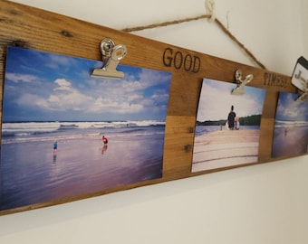 Photo Display - Easy Change Reclaimed Timber Picture Frame