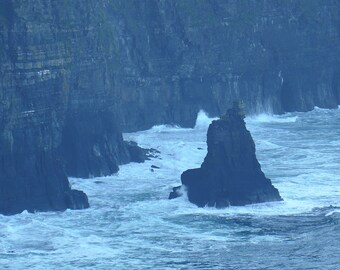 Cliffs of Moher, County Clare, Ireland Photography, Atlantic Ocean, Wall Art, Fine Art, 8 x 10 Photo, 5 x 7 Photo, Wall Decor