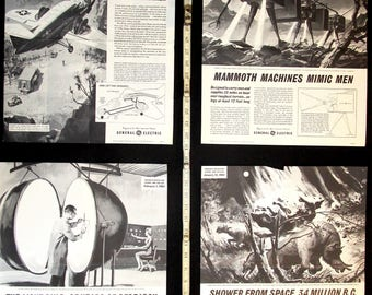 Sci Fi Science Class Posters 1960s No. 2 Collection