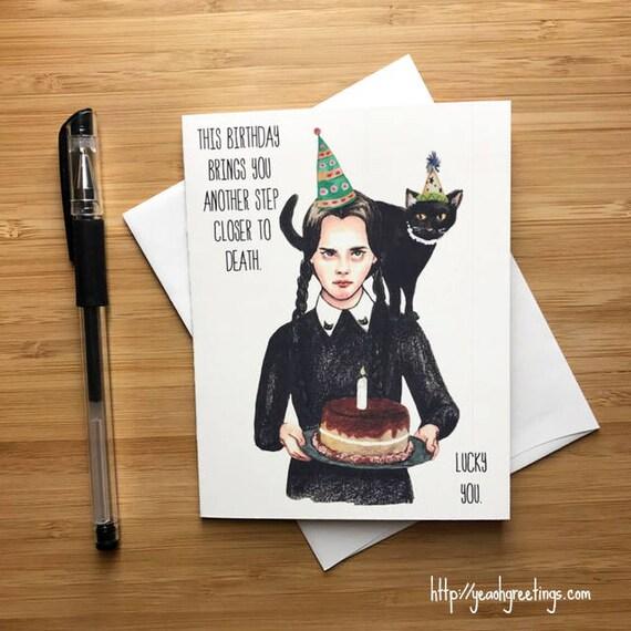 Cute Wednesday Birthday Card Happy Birthday Card For