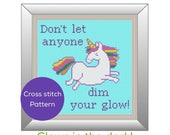 Unicorn Glow Cross Stitch...