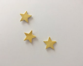 Set of 3 Ceramic Star Magnets