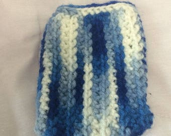 Blue and White Phone Cozy