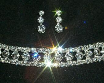 Stil # 12381 - Stretch Form Halskette und Ohrringe Set