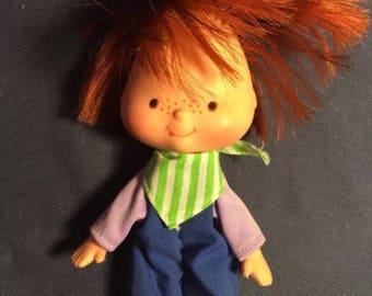 Original Huckleberry Pie Toy Doll From Strawberry Shortcake Cartoon series 1979