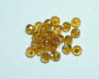 10 pearls 8mm light champagne swarovski crystal