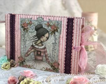 Large Scrapbook Mini Album-Santoro design.