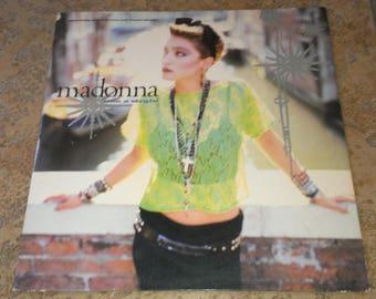 "Madonna ""Like a Virgin"""