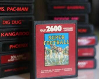 Vintage Atari Super Football Cartridge rare