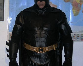 Batman begins costume