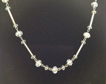 Clear Bead Necklace