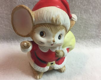 Mouse in Santa Suit (#217)