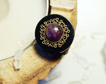 "Plugs ""witchy Amethyst"""