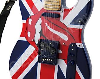 Miniature Guitar ROLLING STONES
