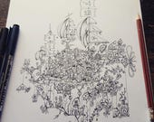 Steampunk Mushroom Airshi...