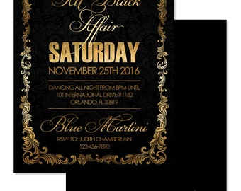 all blacks invite etsy