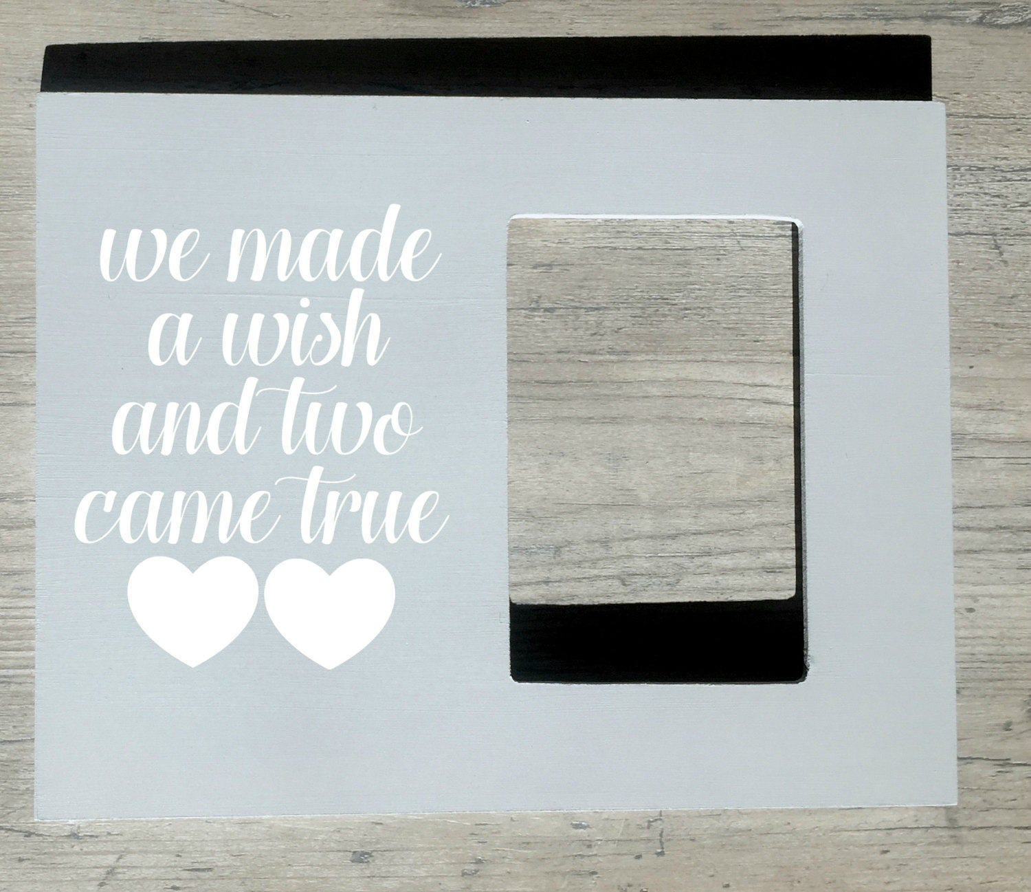 Twin Quote Picture Frame, Baby Twins Gift, Personalized New Twins ...