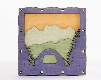 Camping Decor - Forest Wall Art - Nature Lover Gift - Tent Wall Decor - Mountain Wall Art - Nature Wall Art - Cabin Wall Decor - Dome Tent