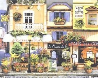 Lavender Street Cafe 5813805 Wallpaper Border