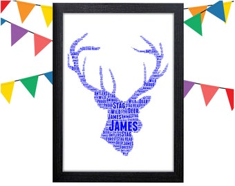 Stag gift etsy personalized gift stag gift m4hsunfo