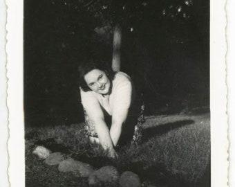 vintage photo 1944 Chubby Glamour Girl ~ Love Shirley