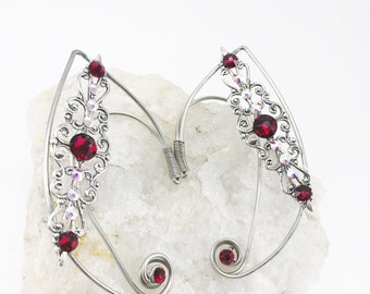 Elven Ear Cuffs - Elf Ear Cuffs - Fairy Ear Cuffs - Fairy Ears - Wire Ear Cuffs - Wire Elven Ear Cuffs - Fairy Ear Cuffs - Ear Cuffs