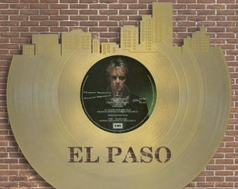 El Paso Art, El Paso Skyline, Texas Gifts For Her, Great Gifts For Husband, Fun Gifts For Boyfriend, For Him, Cool Gifts For Coworker