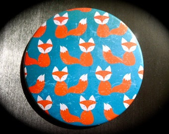 Pocket mirror 88 Pocket mms 'Little Fox' / comes with pouch