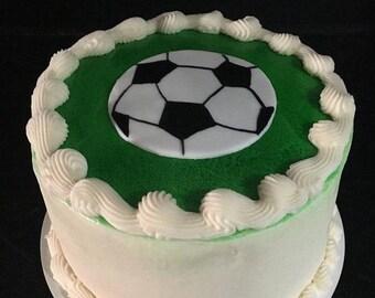 Fondant/Sugarpaste Soccer Ball