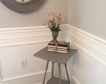 SOLD -- Tall Pedestal Table