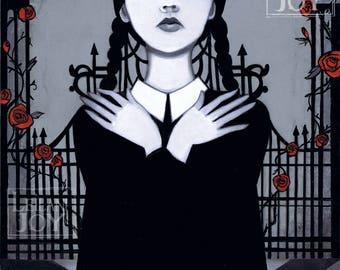 Wednesday Addams 11x14 Fine Art Print